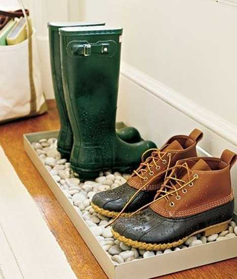 pebbles floor mat for shoes
