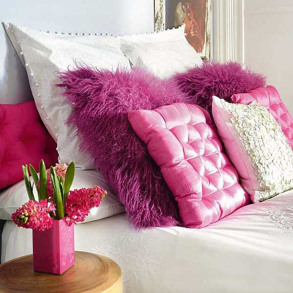 Making Decorative Pillows Ideas : 20 Creative Decorative Pillows, Craft Ideas Playing with Texture and Color
