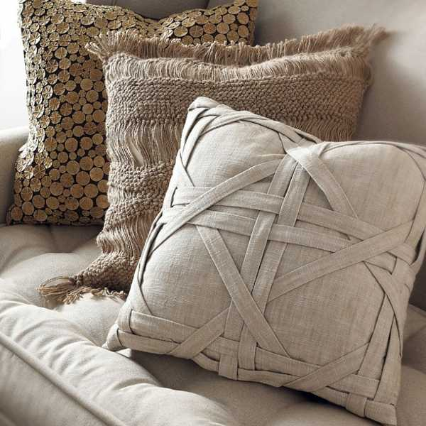 21 Most Unique Wood Home Decor Ideas: 20 Creative Decorative Pillows, Craft Ideas Playing With