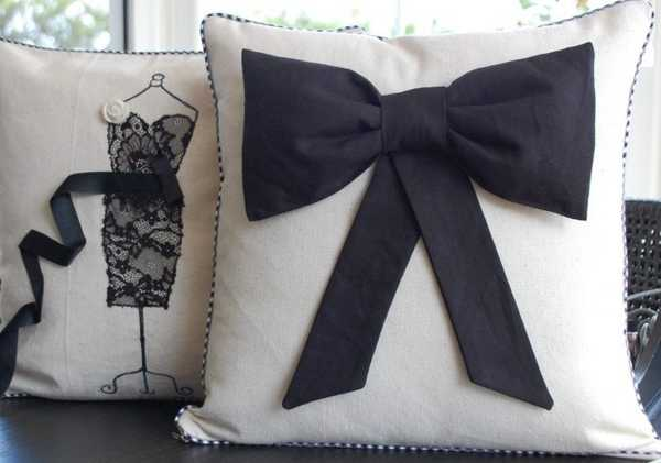20 decorative pillows with dresses and flowers for romantic