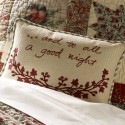 throw pillows with tapestry and embroidery