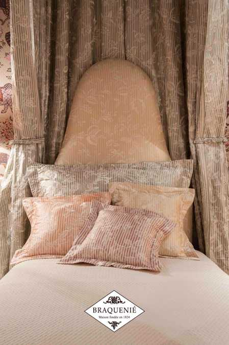 throw pillows in soft light colors