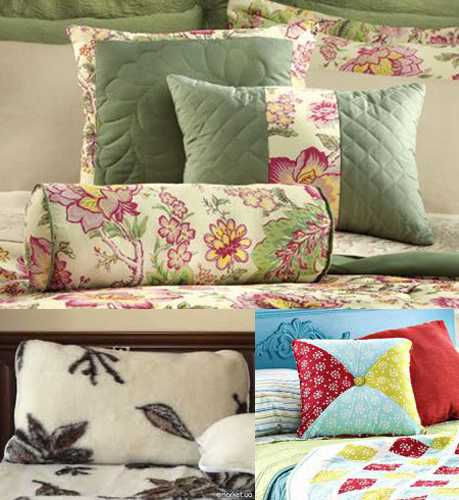accent pillows and bedding sets