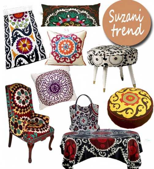 Latest Trends In Decorating Suzani Textiles And Bold