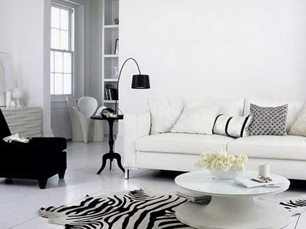 black and white living room pillows