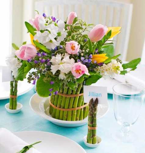 Table Centerpieces For Home: 25 Spring Home Decorating Ideas Blending Colorful Flowers