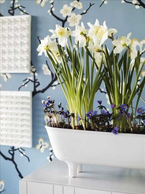 green colors for spring decorating - Spring Decorating Ideas