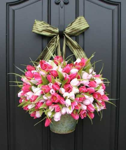 Floral Decorating Ideas: 25 Spring Home Decorating Ideas Blending Colorful Flowers