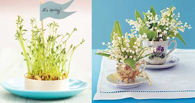 25 spring home decorating ideas blending colorful flowers and