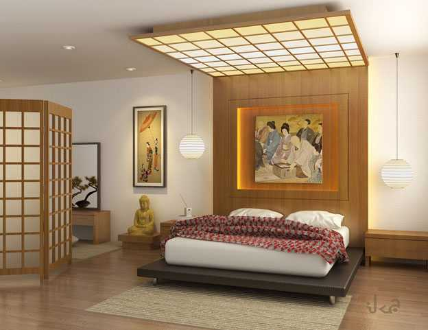 oriental interior decorating, bedroom ideas