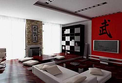 asian interior decorating ideas, living room design