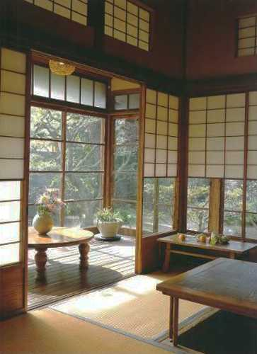 bamboo blinds for oriental interior decorating
