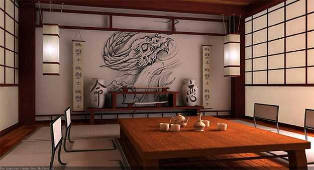 oriental interior decorating ideas