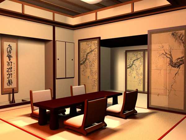 low furniture Japanese style