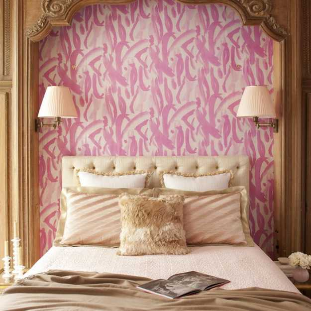 bedroom decor in vintage style