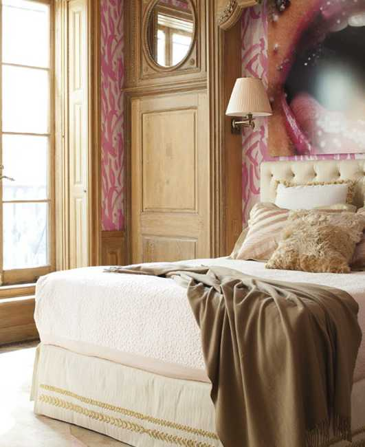 romantic bedroom decor ideas in vintage style with