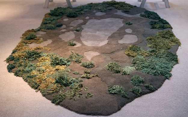 grass floor rug