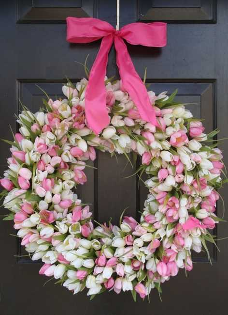 home accents wreaths spring decorating (10)