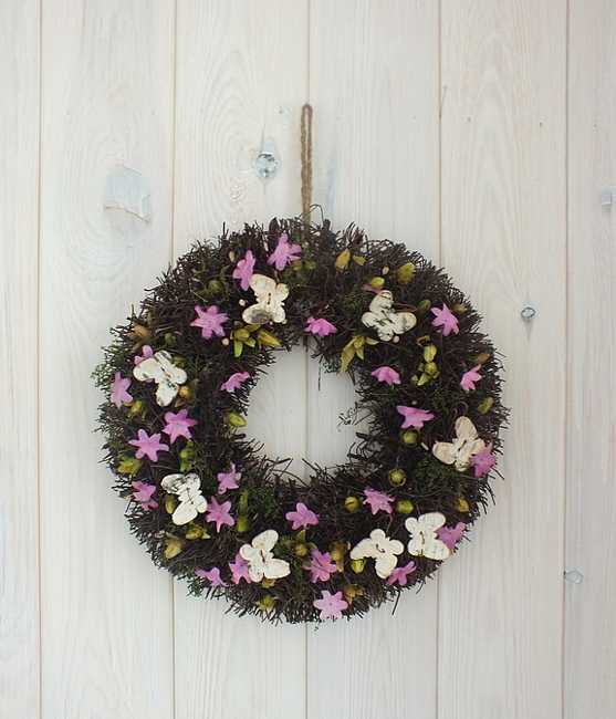home accents wreaths spring decorating (12)