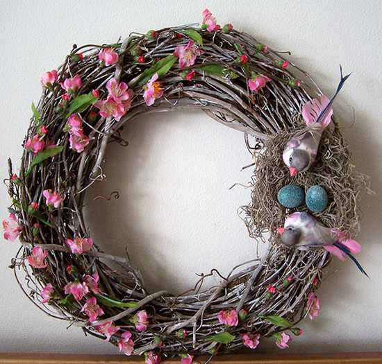 home accents wreaths spring decorating (15)