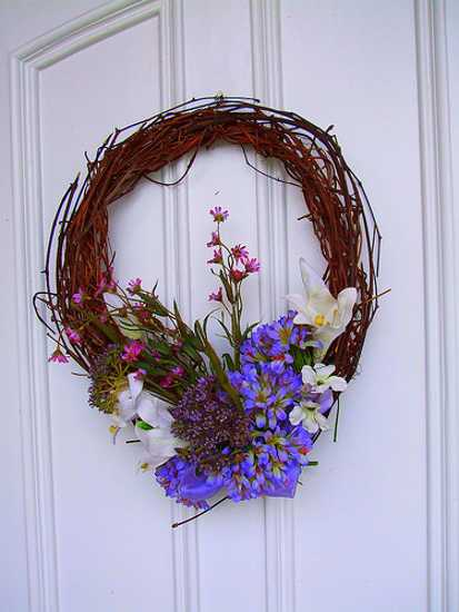 home accents wreaths spring decorating (19)