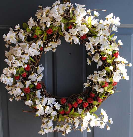 home accents wreaths spring decorating (21)