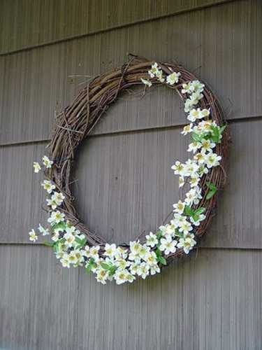 home accents wreaths spring decorating (23)