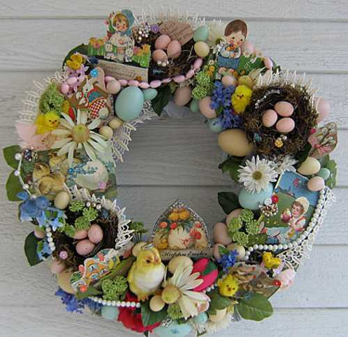 home accents wreaths spring decorating (24)