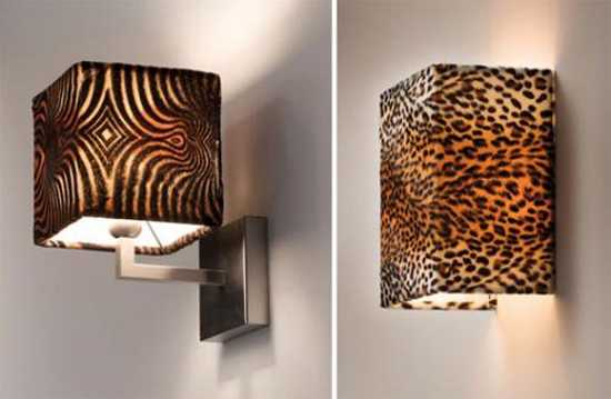 lamp shades with animal prints
