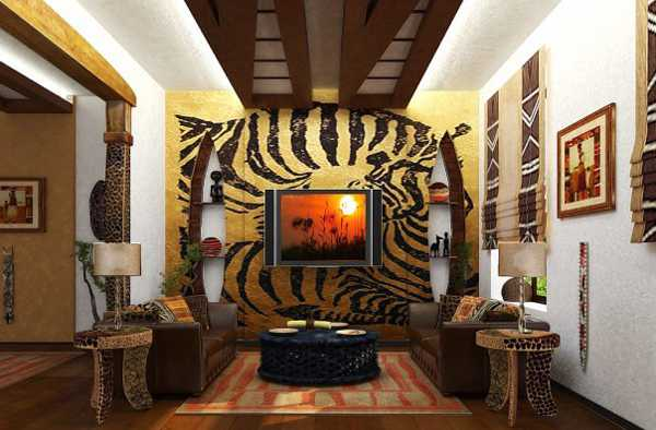 wall decorations with animal print