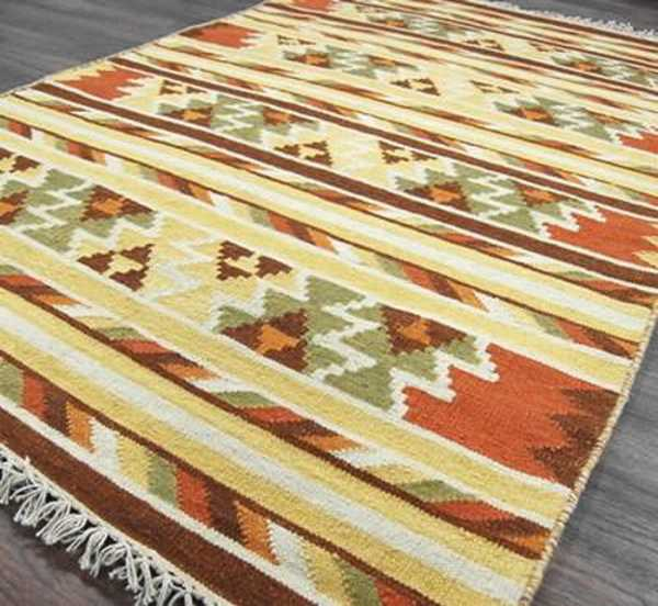 kilims for ethnic interior decorating