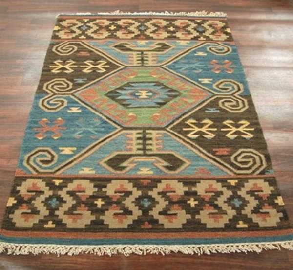 unique floor rug for ethnic interior decor