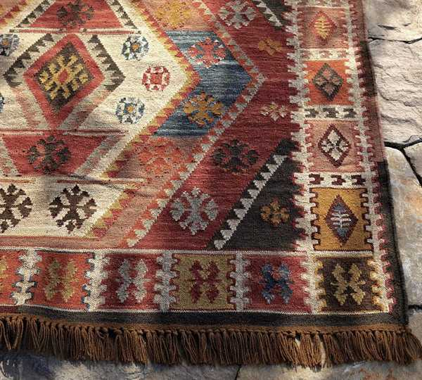 turkish floor rug for ethnic interior