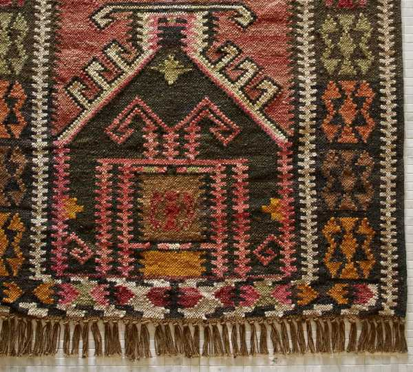traditional turkish rug for ethnic interior