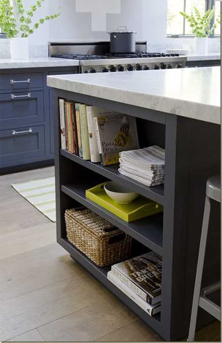 gray kitchen cabinets with