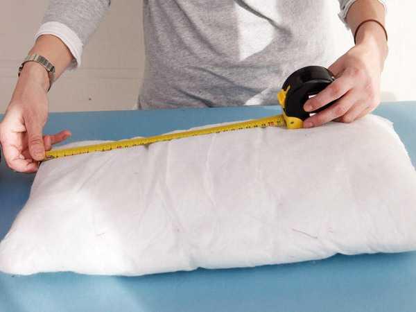 measuring pillow