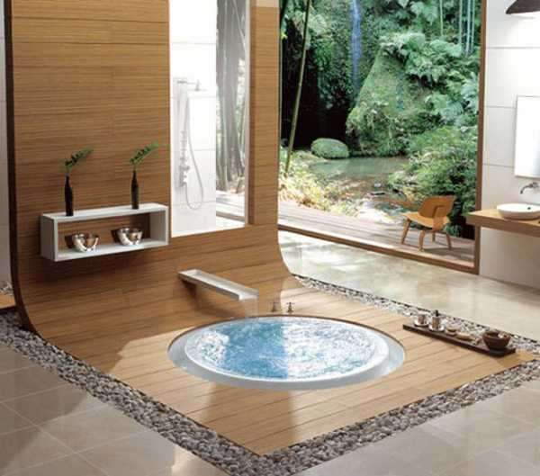 Elegant japanese bathroom decorating ideas in minimalist for Bathroom in japanese