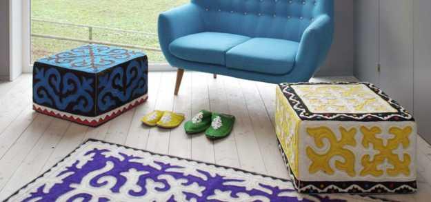 Stylish Decorative Accessories Blending Wool Felt Fabrics with
