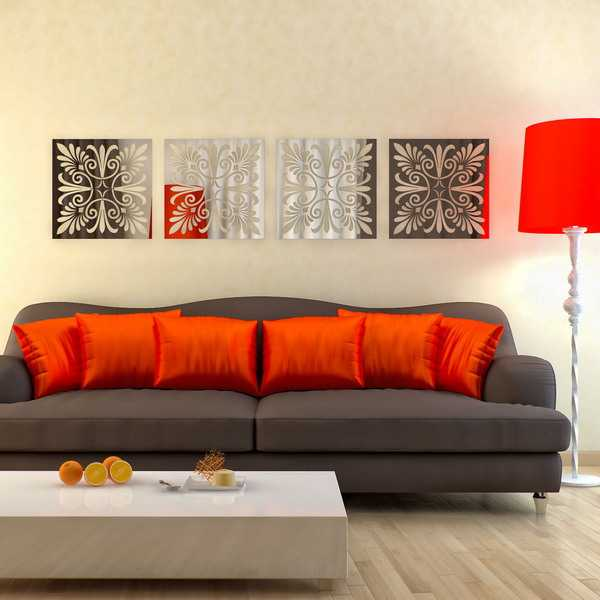 30 modern interior decorating ideas bringing creative wall - Modern wall decor for living room ...
