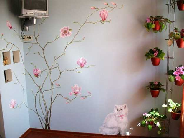 tree painting ideas for interior decorating