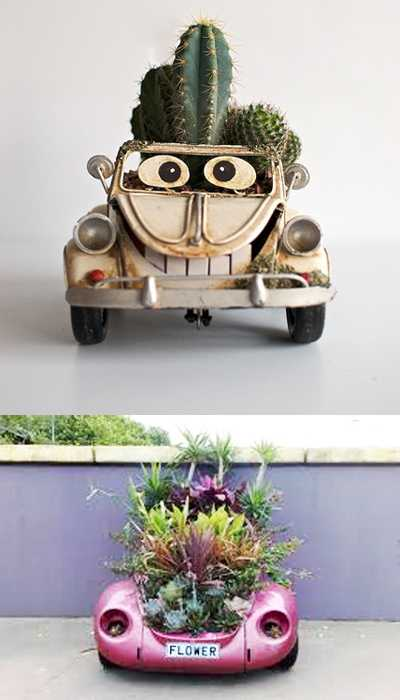Creative Outdoor Home Decorating Ideas And Unusual