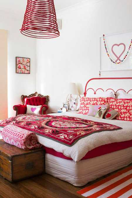 15 Interior Decorating Ideas Adding Bright Red Color to Modern ...