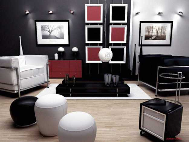 Modern Interior Decorating And Create A Perfect Almost Neutral Background For Displaying Bold Accent Walls Floor Rugs Lighting Fixtures Wall Art