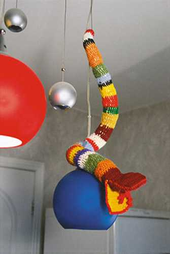 colorful snake for pendant light