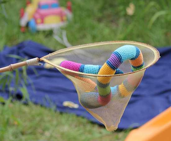 colorful snake kids toy