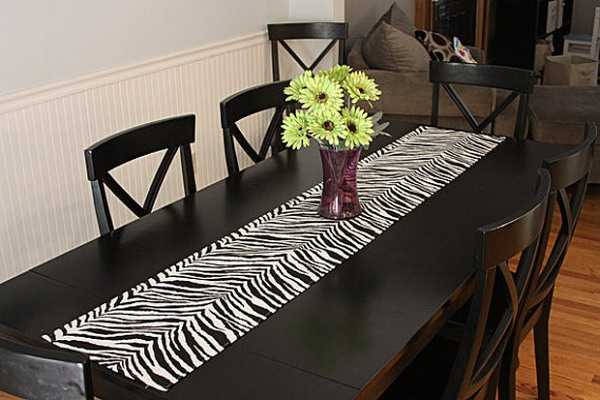 Animal Print Dining Room Furniture
