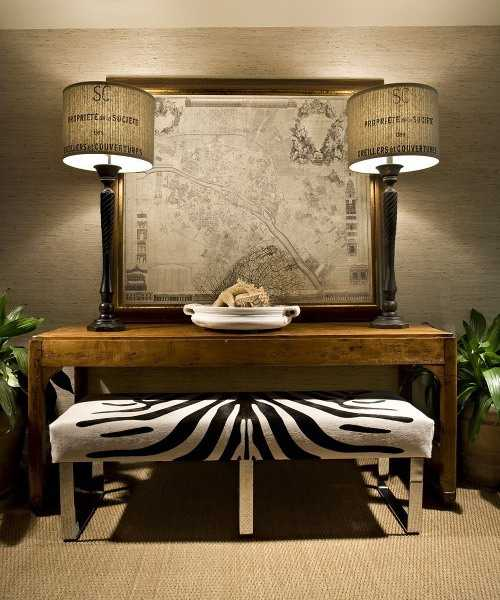 21 Modern Living Room Decorating Ideas Incorporating Zebra