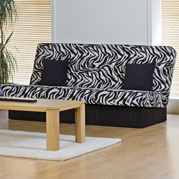 21 Modern Living Room Decorating Ideas Incorporating Zebra Prints ...