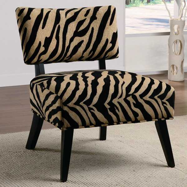 21 modern living room decorating ideas incorporating zebra for Animal print decoration