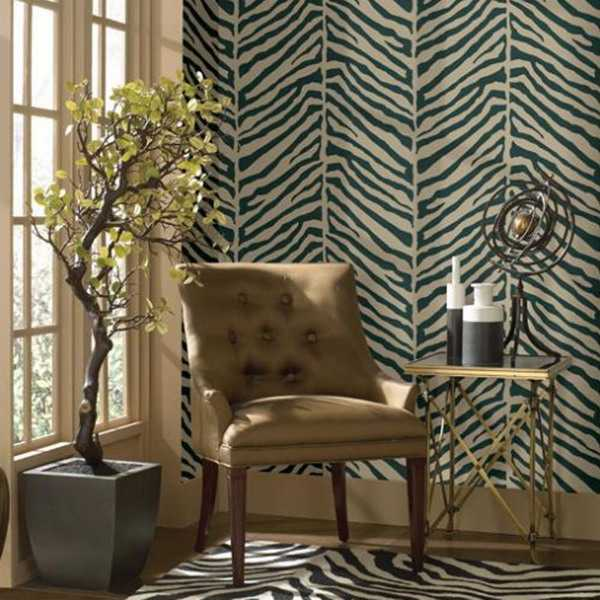 Home Decor Design Ideas: Exotic Home Decorating Ideas Allowing Zebra Prints To
